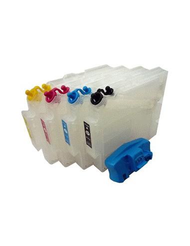Inkt, refil, cartridges, Ricoh, 7000,...
