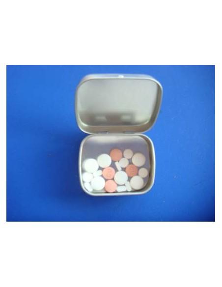 Tin pastil holder