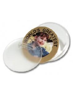 Button plastic 2 1/4 inch
