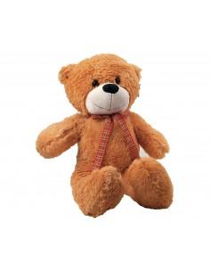 Brown teddy bear, with scarf 57 cm