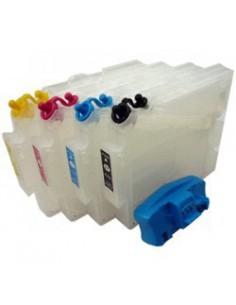 Inkt, refil, cartridges, SG400, SG800, met resetter, Virtuoso, Sawgrass, zonder inkt