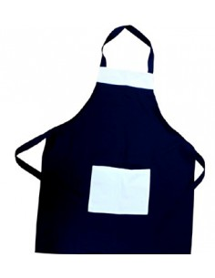 Apron Navy, with white bag, sublimation