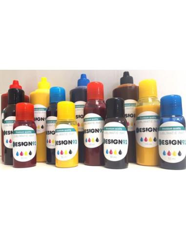 Inkt, aanbevolen voor Epson, Ricoh,...