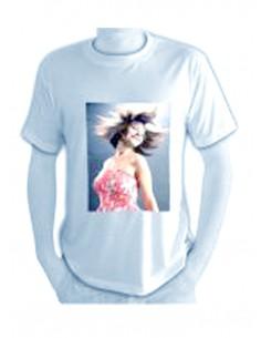 T'shirt, unisex, 210 gr. white