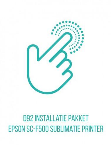 Epson SC F 500 installatiepakket en...