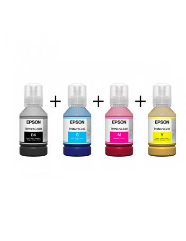 Epson sublimatie inkt 140ml C+M+Y+K