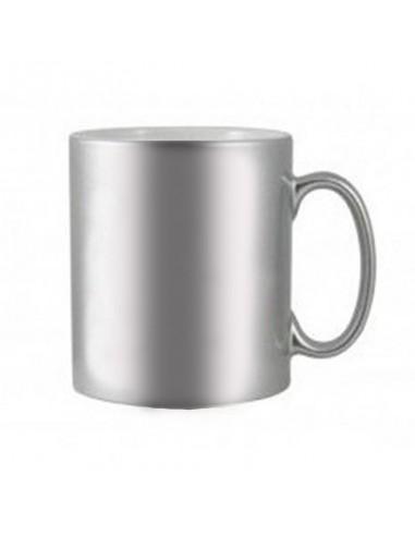 Metallic Mok Zilver | 11oz |...